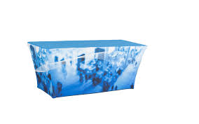 Fitted Picnic Tablecloth Fitted Table Covers Fitted Table Covers 4u2032 3sided Trade Show