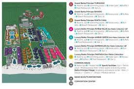 San Jose Convention Center Map by Luxury Bahia Principe Ambar Travel By Bob
