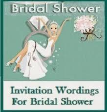 Bridal Shower Invite Wording Sample Invitation Wordings Bridal Shower