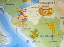 Sinaloa Mexico Map Amazon Com Ingenio Mexico Map Bilingual Learning Puzzle Toys U0026 Games