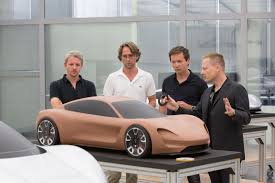 porsche mission e design review with exterior designers thomas