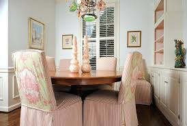 Fabric Dining Room Chair Covers Chair Covers For Dining Chairs Image Of Fitted Chair Slipcovers