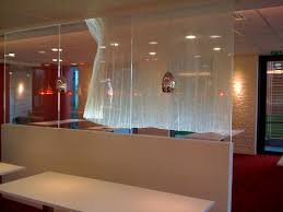 room separator curtains with simple white room dividers restaurant
