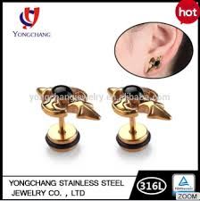 stud for ear 2016 new arrival indian stud earring 316l stainless steel ear nail