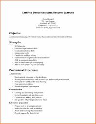 Dental Assistant Description For Resume 7 Dental Assistant Qualifications Resume Budget Template Letter