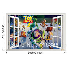 Toy Story Home Decor Aliexpress Com Buy Small Size The Little Mermaid Fake Window