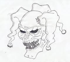 drawings of clowns scary clown pencil drawings evil 3 by colo with
