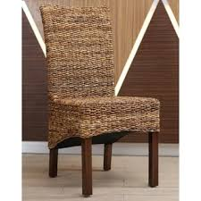 wicker kitchen furniture wicker dining room kitchen chairs shop the best deals for nov