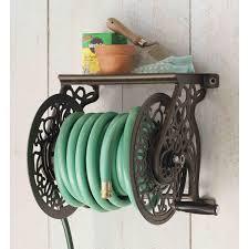 beautiful liberty decorative wall mount garden hose reel ships