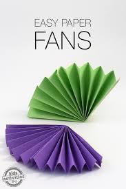 paper fans easy paper fans