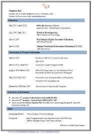 curriculum vitae format for freshers doc cv resume format doc indian resume format in word file free