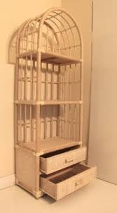 Bookcase With Drawers White Rattan Bookcases Foter