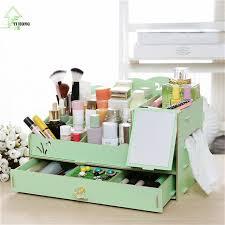 boite bureau yihong boîte à bijoux en bois mignon stylo boîte de rangement