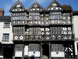 the feathers hotel ludlow the tudor style half timbered building