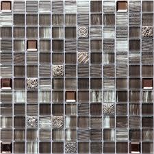 kitchen backsplash metal mosaic tile metal glass blend mosaic kitchen backsplash tile