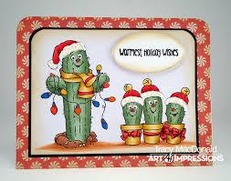 art impressions rubber stamps ai christmas 4787 u2013 southwest