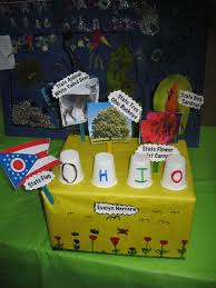 Ohios State Flag Ohio 2015 State Float Projects Pinterest Ohio Social