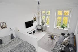 Minimalist Aesthetics Interior Design Scandinavian Apartment - One bedroom apartments interior designs