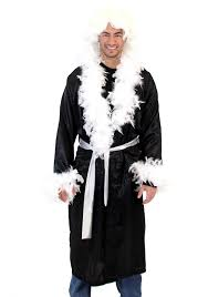 wwe halloween costumes for kids amazon com ric flair nature boy costume robe and wig black