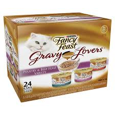 fancy feast gravy cat food cat food petsmart