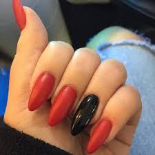 nail polish red acrylic nails awesome matte red nail polish red