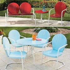 retro patio furniture betterimprovement with retro outdoor furniture
