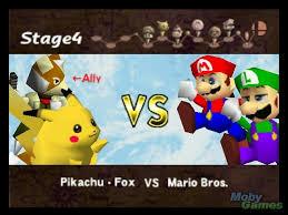 smash bros 64 battle royale battle fanon wiki smash bros 64 smash bros nintendo 64 pikachu and fox