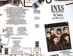 the swing inxs inxs the swing other stories vhs at discogs