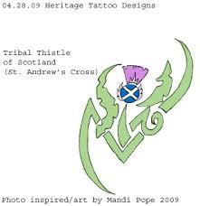 tribal thistle tattoo by kylorensmom on deviantart