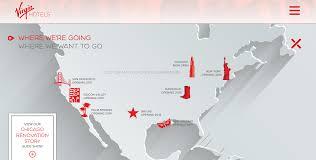 Virgin America Flight Map by Virgin Hotels Announces San Francisco Travelupdate