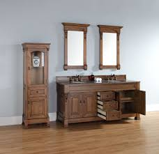 72 inch country oak double bathroom vanity optional countertops