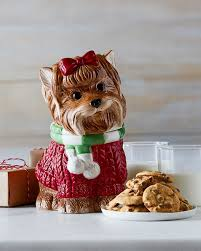 love pups poodle and yorkie cookie jars