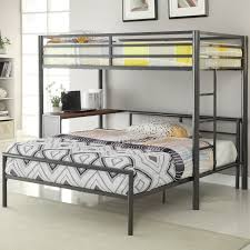 L Shaped Bunk Bed Plans Twin Over Full L Shaped Bunk Wildon Home Reviews Wayfair Furniture
