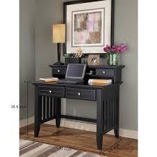 bureau avec etagere moderne mobilier de bureau design noir en bois massif bureau avec