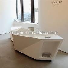 White Salon Reception Desk Custmozied White Used Reception Desk Small Salon Reception Desk