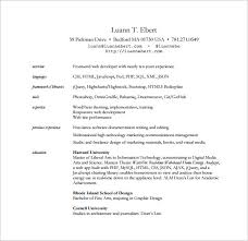 Ui Developer Resume Doc Web Developer Resume Template U2013 11 Free Word Excel Ps Pdf