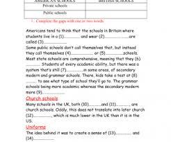 70 free british american worksheets