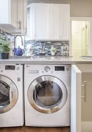 laundry in kitchen 9 small laundry room ideas for the tiniest of apartments