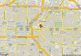 map of garden inn denver downtown denver