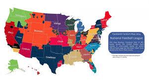 Chicago Gang Map Denver Broncos Dallas Cowboys Dominate Facebook Fandom Map Si Com