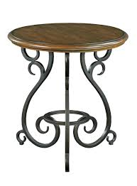 Iron Accent Table Traditional Accent Table With World Cast Iron Base By