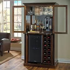 Bar Hutch Cabinet Home Bar Furniture U0026 Full Service Home Bars Wine Enthusiast