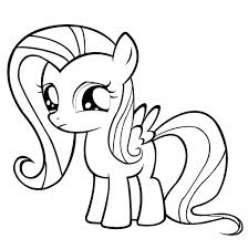 coloring pages of fluttershy check out the finished image on my