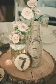 vintage centerpieces best 25 wedding log centerpieces ideas on alternative