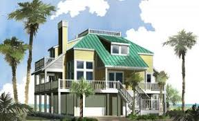 Homes On Pilings Piling House Plans Southern Cottages