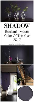 paint color of the year 2017 benjamin moore shadow color of the year 2017 setting for four