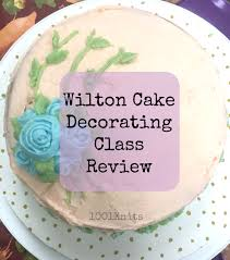Cake Decorating Classes Wilton Cake Decorating Class Review 1 001 Knits
