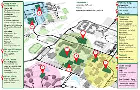 Duke Campus Map Dining Auxiliary Services Unc Charlotte