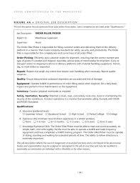 Forklift Duties Resume Order Picker Video Job Description Youtube Forklift Driver