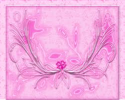 four leaf clover in pink pattern free wallpaper